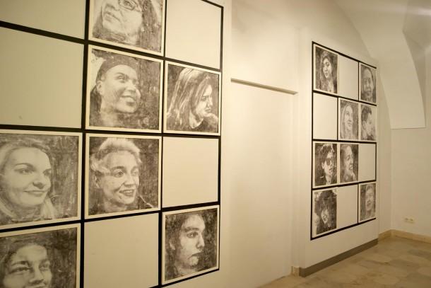 widok ekspozycji, Centrum Kultury w Lublinie