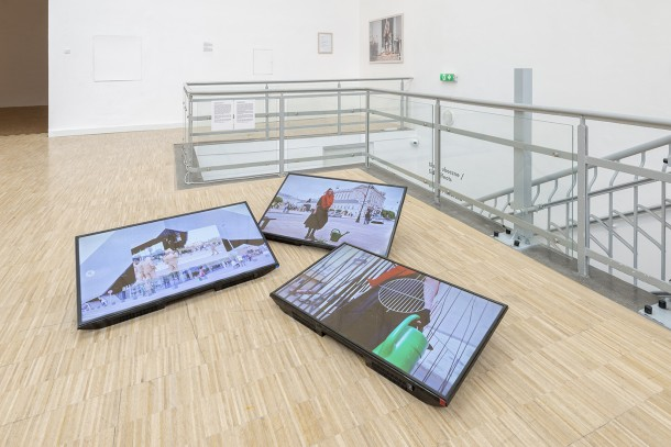 exhibition view, Side effects, Arsenał Gallery Poznań, phot. Tytus Szabelski